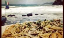 Spaghetti Alici Fresche e Pan Grattato