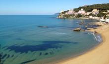 The Quercetano beach deserted