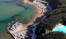 Vista aerea dei Bagni Nettuno