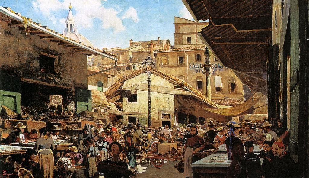 Mercato vecchio di Firenze