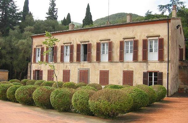 La villa di San Martino