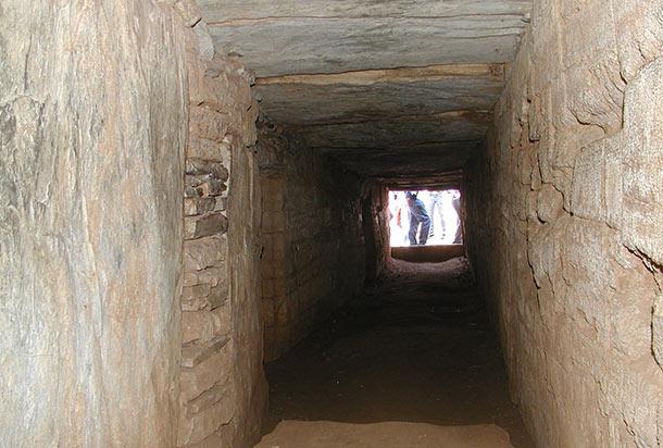 Il corridoio di ingresso